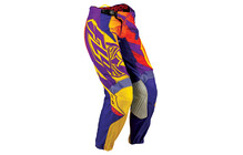 Fly Racing Kinetic Race Pantalon homme Femme jaune/violet